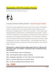 Waikiki Community Center September Newsletter - Kaimuki, Hawaii