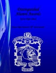 Kaiser High School Distinguished Alumni ... - Kaimuki, Hawaii