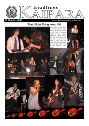 Weekly News 30 October 2009