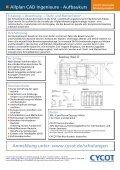Schalung -> Bewehrung -> Stahl- und Mattenlisten - CYCOT Gmbh - Seite 2