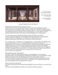 Junge Perspektiven für Alte Meister - Kaiser Friedrich-Museums ...