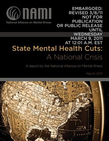 State Mental Health Cuts: A National Crisis - Kaiser Health News
