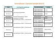 Terminkalender 1.Semester 12-13 Schulen