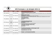 Terminplan für das 1. Halbjahr 2012/2013 - Kaiserin-Friedrich ...