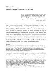 Spiegelungen - Friedrich II., Montezuma und ... - KAISERKERN.de