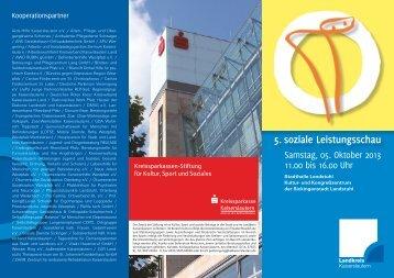 5. soziale Leistungsschau - Landkreis Kaiserslautern