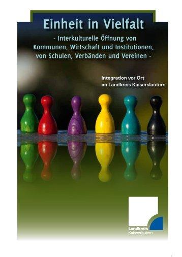Integrationskonzept - Landkreis Kaiserslautern