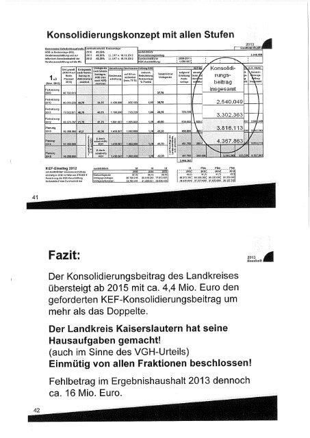 N I E D E R S C H R I F T - Landkreis Kaiserslautern