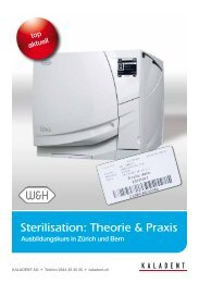 Sterilisation: Theorie & Praxis - KALADENT AG