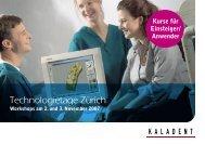 Technologietage Zürich - KALADENT AG