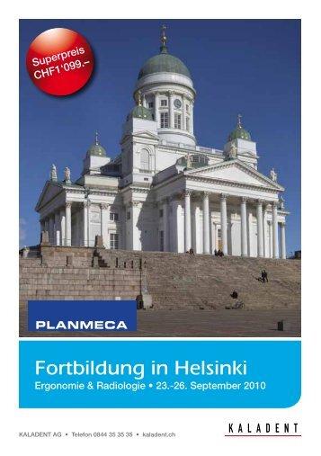 Fortbildung in Helsinki - KALADENT AG