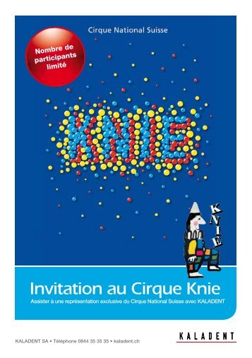 Invitation au Cirque Knie