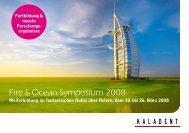 Fire & Ocean Symposium 2008 - KALADENT AG