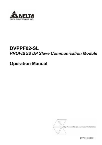 DVPPF02-SL Operation Manual