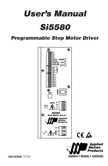 Motion Controller Program