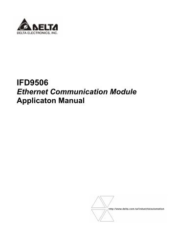 Ethernet Communication Module IFD9506