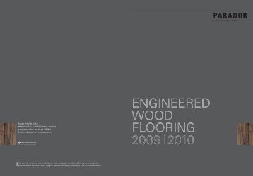 engineered wood flooring 2009i2010 - Kalcer
