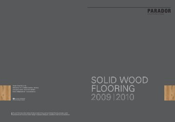 solid wood flooring 2009i2010 solid wood flooring 2009i2010 - Kalcer