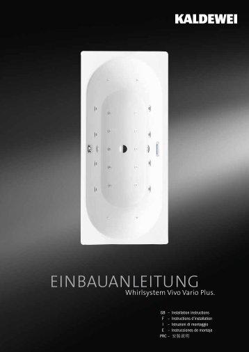 Installationsanleitung - Kaldewei