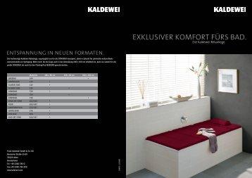 Folder - Kaldewei