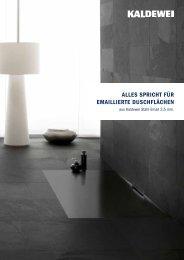 Folder bodengleich - Kaldewei
