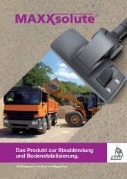 MAXXsolute Factsheet zur Staubbindung und ... - K+S KALI GmbH