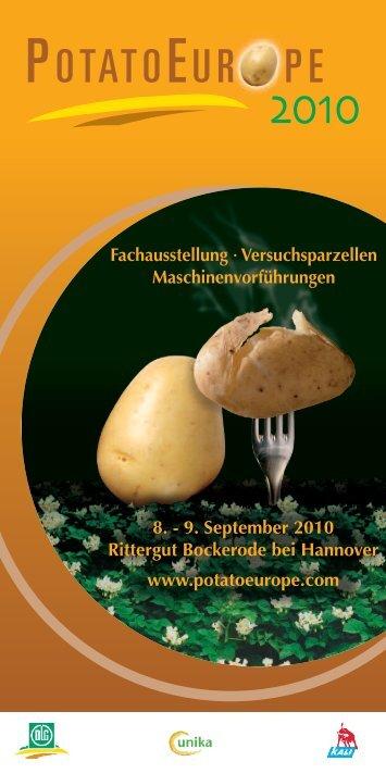 PotatoEurope 2010 - K+S KALI GmbH