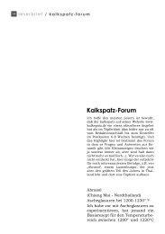 Kalkspatz-Forum