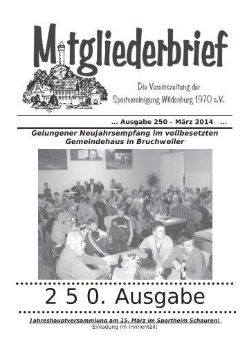 Ausgabe 250 - März 2014