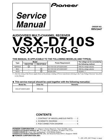 Vsx d638 g a f input assy vsx d710s g fandeluxe Choice Image