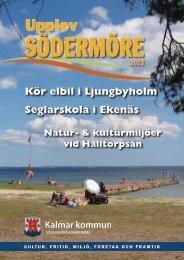 Turistfolder2013 - Kalmar kommun