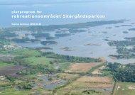 Planprogram Skärgårdsparken - Kalmar kommun