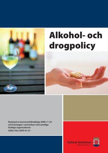 Alkohol- och drogpolicy - Kalmar kommun