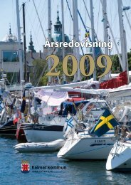 Årsredovisning 2009 (Pdf, 2,67 MB) - Kalmar kommun