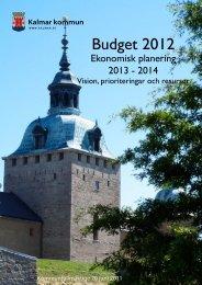 Budget 2012-2014 - Kalmar kommun