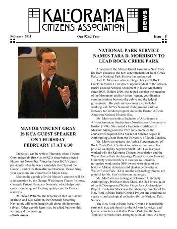 PDF Download - Kalorama Citizens Association