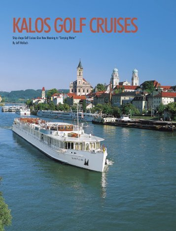 Ship-shape Golf Cruises Give New Meaning to ... - Kalos Golf
