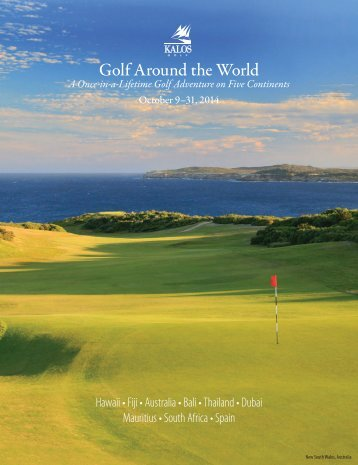 Golf Around the World - Kalos Golf
