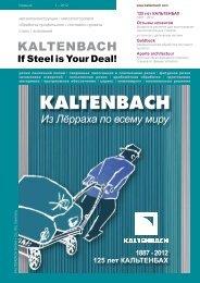 PDF: Издание 1-2012 - Hans Kaltenbach Maschinenfabrik GmbH + ...