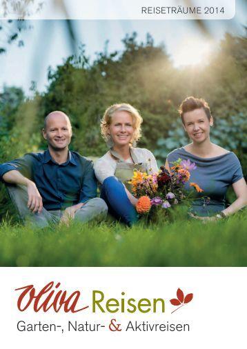 Oliva Reisen, Gartenreisen & Wanderreisen