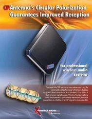CPAntenna brochure - Kaltman Creations LLC