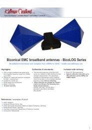 to download BicoLOG Series specification sheet - Kaltman ...