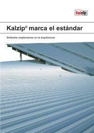 Kalzip marca el estándar