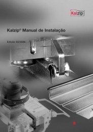 Kalzip® Manual de Instalação