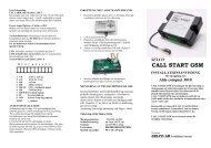 T30-88 callstart.pdf - KAMA Fritid