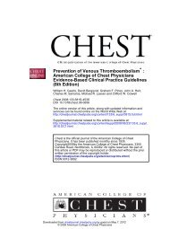 Prevention of Venous Thromboembolism - Covidien