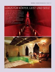 Luxus für Körper, Geist und seeLe - Kamalaya