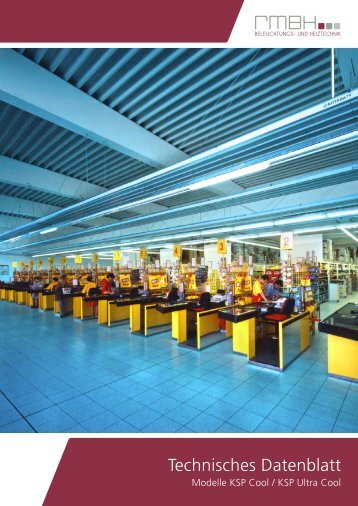 Technische Daten KSP Cool - RMBH | Beleuchtungs