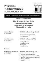Zaterdag 11 juni 2011 - Kamermuziek