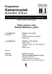 30 mei 2013AL, pieter jansen, barbara baltussen - Kamermuziek